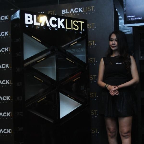 Usung teknologi Carbon Ceramic, kaca film BLACKLIST siap jadi pilihan