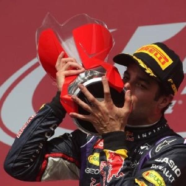 Ricciardo akhirnya naik podium tertinggi di GP Kanada