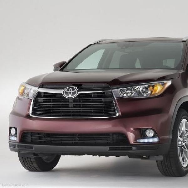 Software Airbag ECU bermasalah, Toyota tarik Highlander