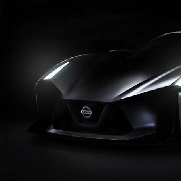 Model konsep Nissan Vision Gran Turismo terungkap
