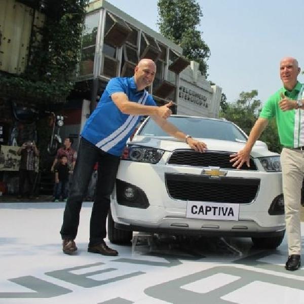 Tampil lebih gaya, New Chevrolet Captiva dibandrol Rp 364 Jutaan