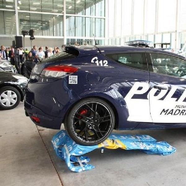 Polisi Madrid siap beraksi dengan Renault Megane RS