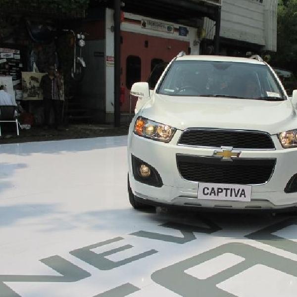 Desain, Fitur dan Teknologi yang ada di New Chevrolet Captiva 2014