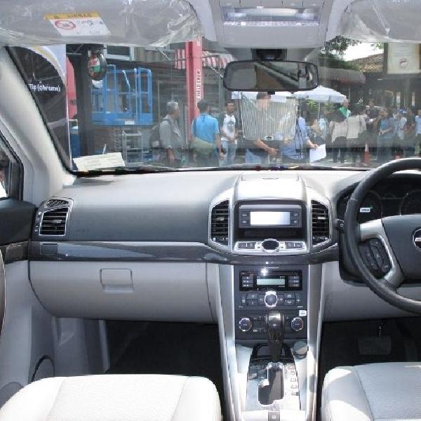 GM uji sistem pendingin kabin New Chevrolet Captiva