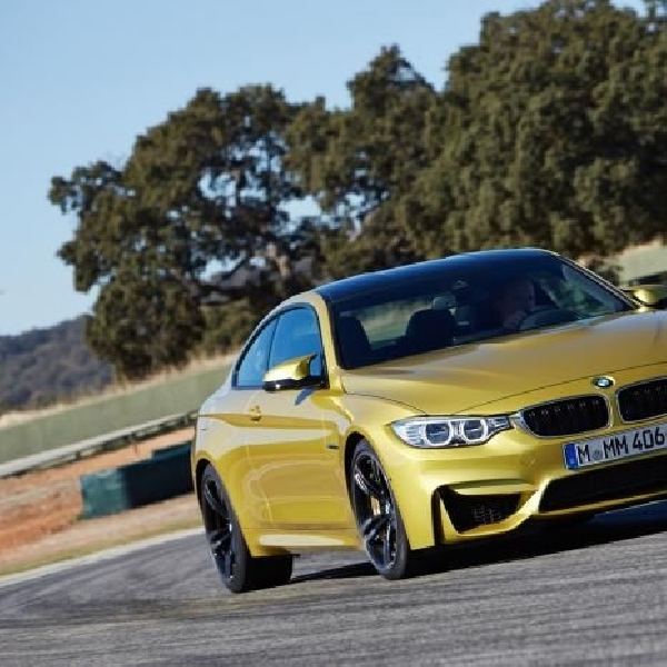 BMW boyong M4 Coupe edisi spesial ke Goodwood
