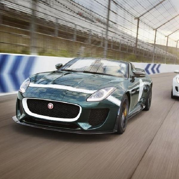 Jaguar F-Type Project 7 diproduksi terbatas