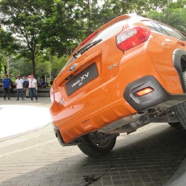 Subaru buktikan ketangguhan fitur Symmetrical All Wheel Drive