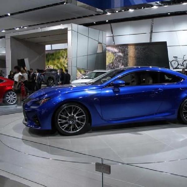 Lexus benamkan Gearbox kopling ganda untuk model RC F