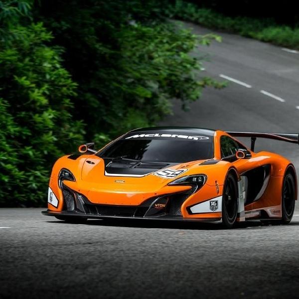 Begini gaharnya rupa McLaren 650S GT3