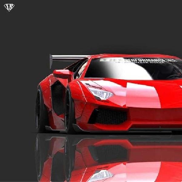 Lamborghini Aventador makin radikal dirombak Liberty Walk