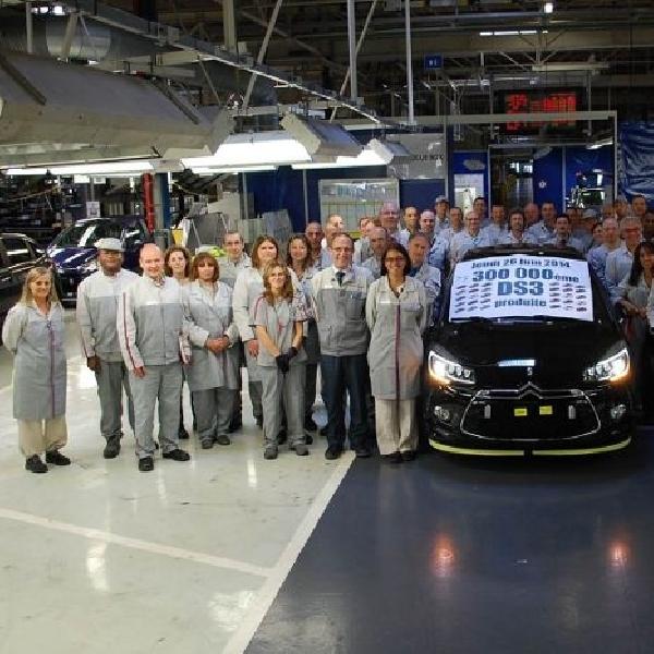 Citroen rayakan produksi ke-300.000 unit untuk model DS3