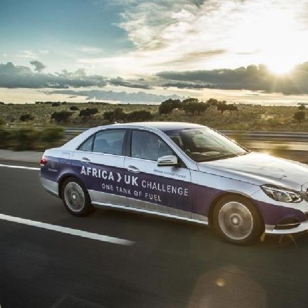 Uji Efisiensi Mercedes Benz E 300 BlueTECH Hybrid dari Afrika sampai Inggris