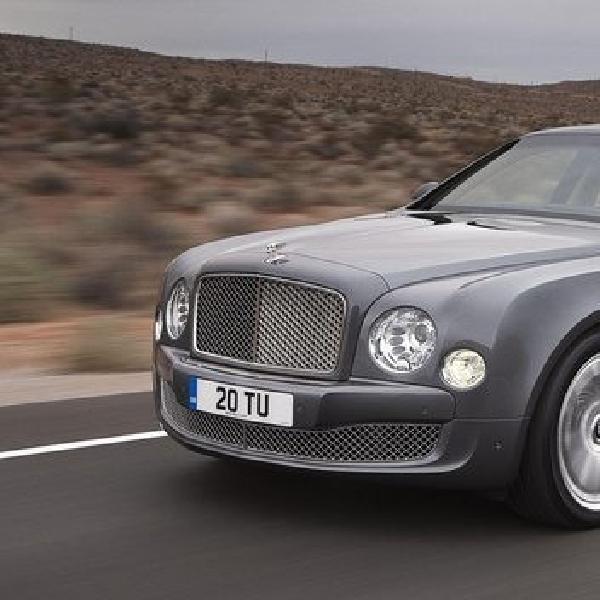 Akhir tahun Bentley luncurkan varian baru Mulsanne