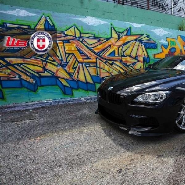 HRE Wheels topang gaya sporty BMW M6