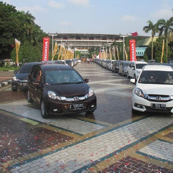 Penjualan Honda bulan Juni masih didominasi Honda Mobilio