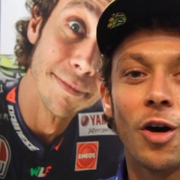 Lewat video Rossi ungkap kegembiraan setelah sepakat dengan Yamaha
