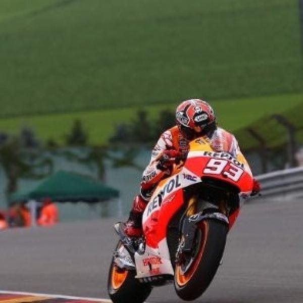Start dari paddock, Marquez tetap tidak terbendung