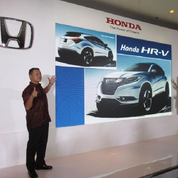 HPM lebih memilih nama Honda HR-V ketimbang Honda Vezel