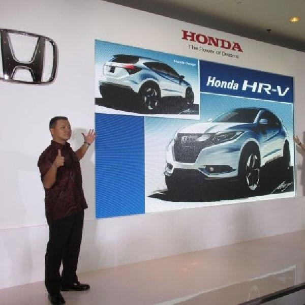 Honda HR-V punya ruang kabin lebih luas dibanding kompetitor