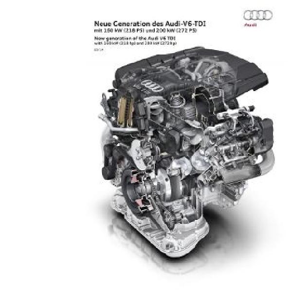 Audi perkenalkan mesin diesel terbaru