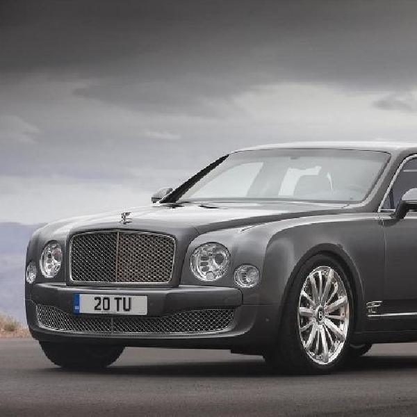 Model Bentley Mulsanne Speed tampil di Paris Motor Show 2014