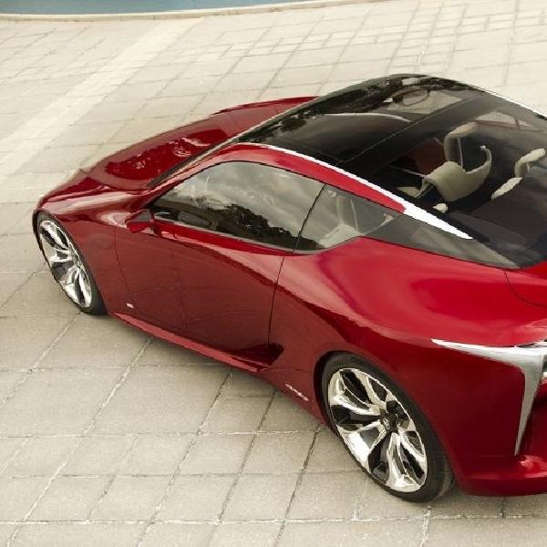 Lexus LF-LC Concept siap masuk jalur produksi