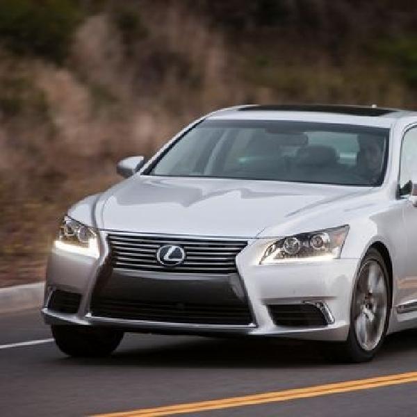 New Lexus LS dalam tahap pengembangan