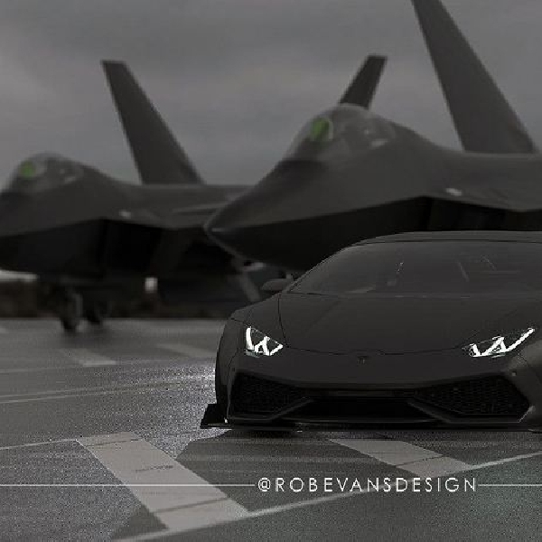 Racikan Liberty Walk untuk Lamborghini Huracan