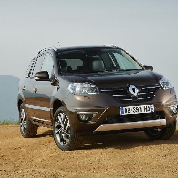 Generasi kedua Renault Koleos siap untuk meluncur