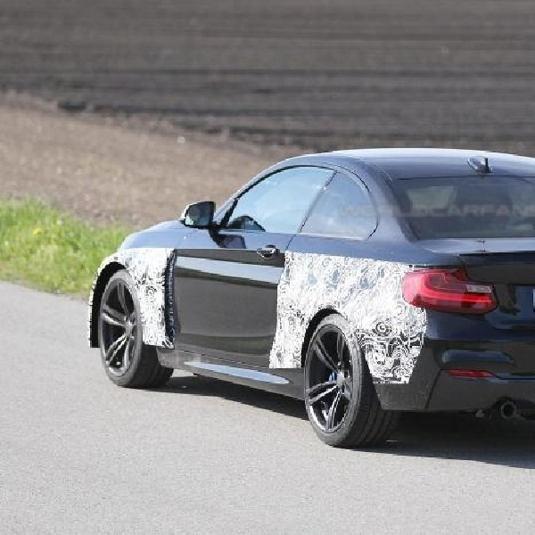 BMW M2 masuk produksi bulan November mendatang