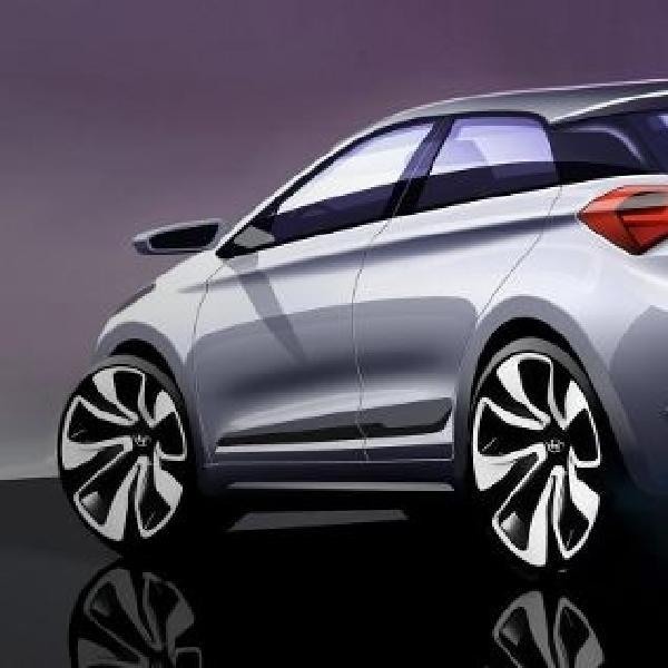 Ini dia sketsa desain resmi Hyundai i20 2015