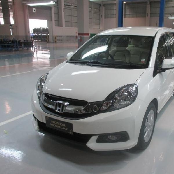 Baru meluncur di India, Honda sudah kantongi 10.000 pemesan Honda Mobilio