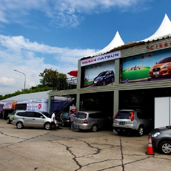 Posko Nissan dan Datsun melayani 2.454 Kendaraan selama musim mudik Lebaran