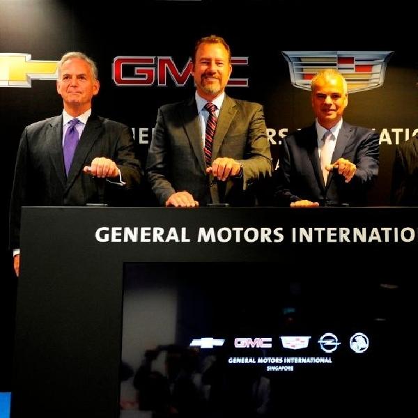 Kantor pusat regional baru General Motors diresmikan di Singapura