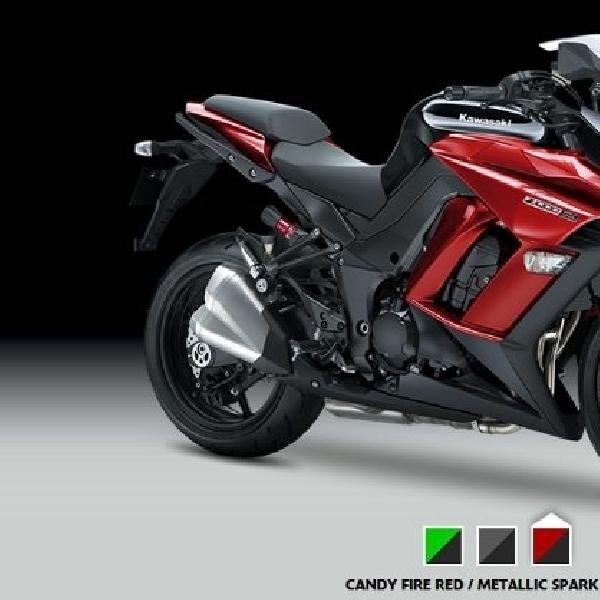 Jajaran produk Kawasaki untuk model tahun 2015