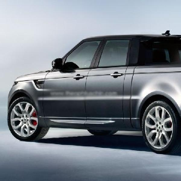 Range Rover Sport menjelma jadi pickup