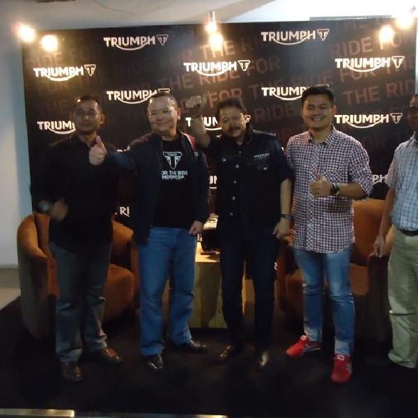 Triumph siapkan 12 model untuk debut perdana di Indonesia