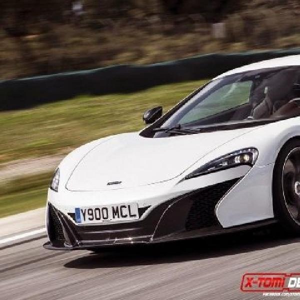 Model baru McLaren diberi nama 500S