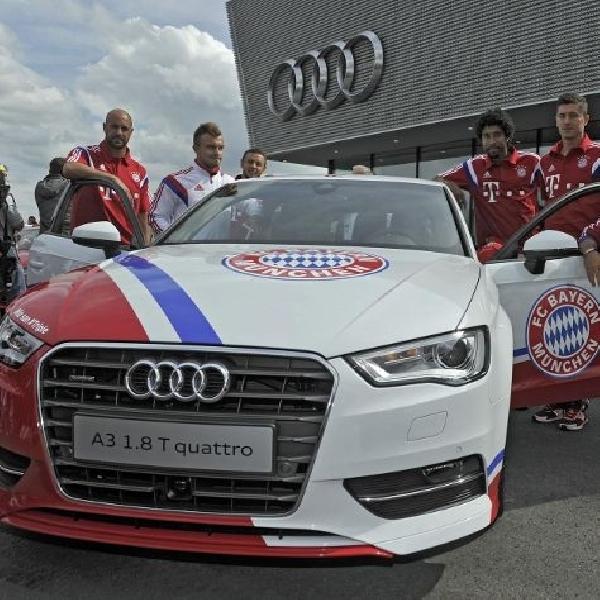 Bintang-bintang Bayern Munich nikmati Audi driving day