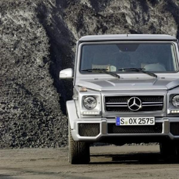 Mercedes boyong G-Class baru dengan sederet perubahan