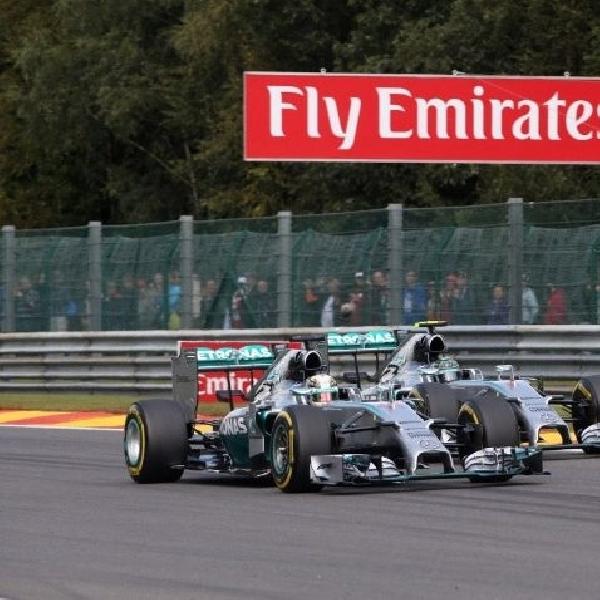 Ternyata Rosberg sempat dicaci saat di podium