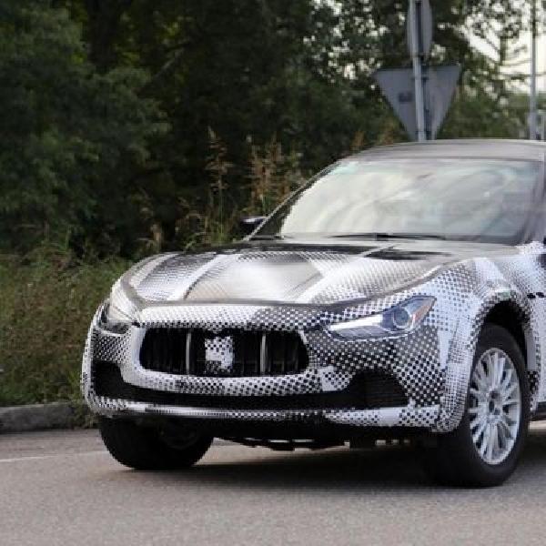 Maserati Levante 2016 terbidik kamera untuk pertama kali