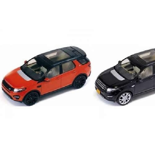 Wujud utuh Land Rover Discovery Sport terkuak lewat Scale Model
