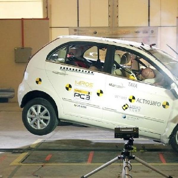 Hasil uji tabrak, Tata Vista hanya mendapat 3 Bintang