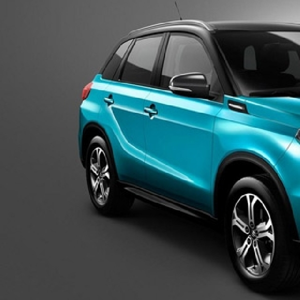 All New Suzuki Vitara Unjuk Gigi di Paris Motor Show