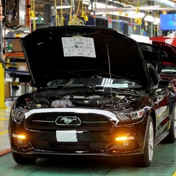 Produksi All New Ford Mustang dimulai