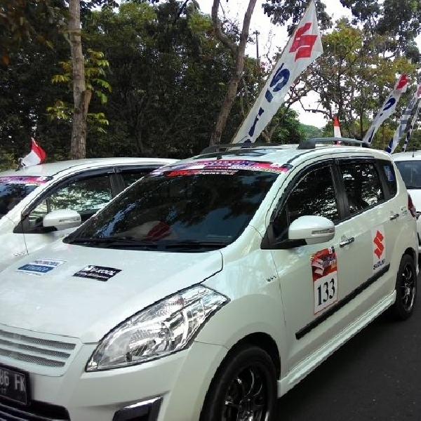 Menyemarakkan Hari Kemerdekaan, Suzuki gelar Family Fun Touring