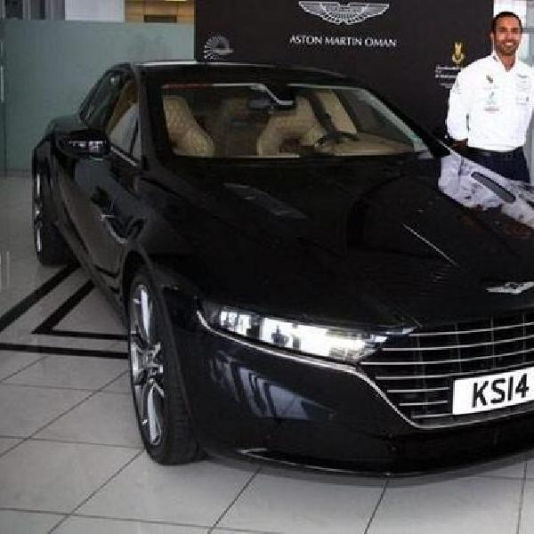 Penasaran bentuk Aston Martin Lagonda? Ini dia penampakannya