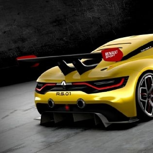 Tunjukkan identitas, Renaultsport R.S. 01 bertenaga 500 Hp lebih