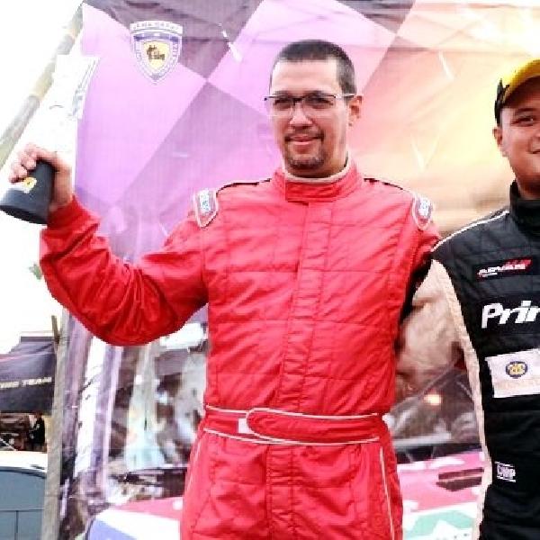 Rizal Sungkar juara Kejurnas Sprint Rally putaran 3